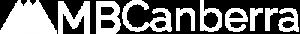 MBCanberra Logo white