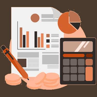 finance and calculator